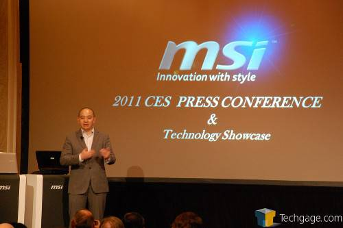 MSI at CES 2011