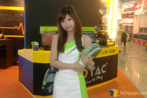 Computex 2010 Booth Babes