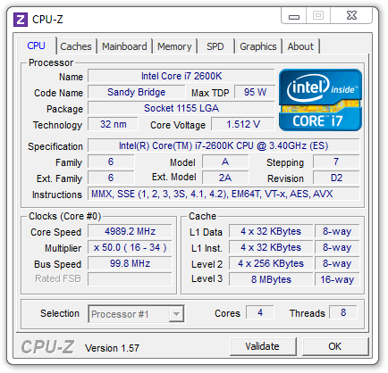 Intel DP67BG Overclocking