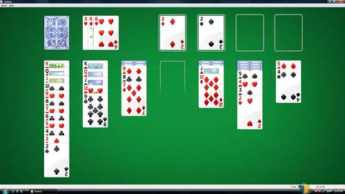 Windows Solitaire - Eyefinity Gaming