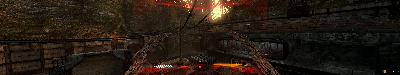 Techgage image aliens vs predator eyefinity gaming