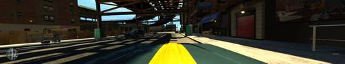 Grand Theft Auto IV - Eyefinity Gaming