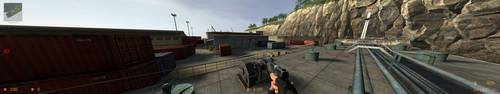 Counter-Strike: Source - Eyefinity Gaming