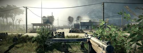 Battlefield: Bad Company 2 - Eyefinity Gaming