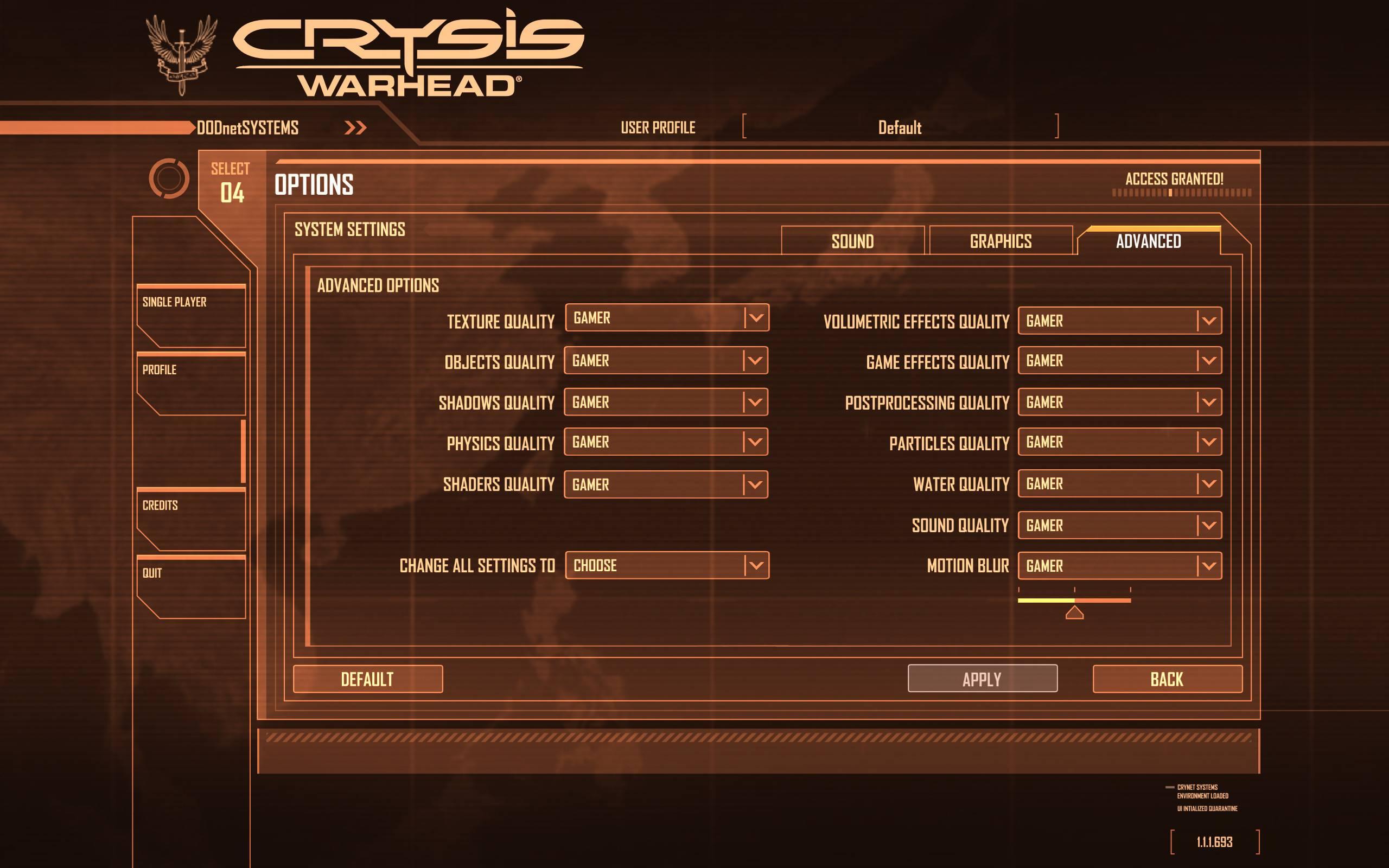 crysis warhead xp desktop theme1 gratis