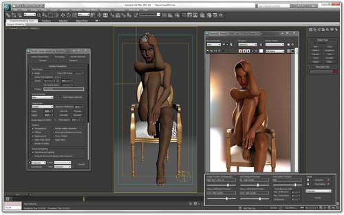 Autodesk 3ds Max 2011 - Naomi: The Black Pearl