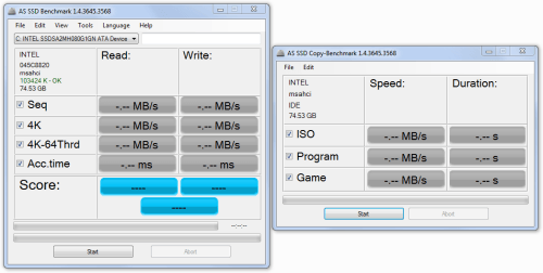 ssdnow v300 read write and type