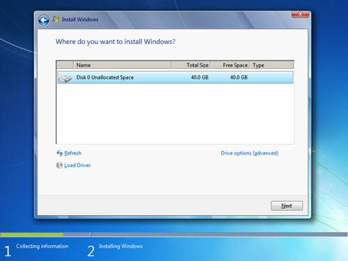 Windows 7 Install Time