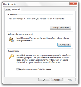 Enabling Auto-Logon and the Administrator Account in Vista and 7