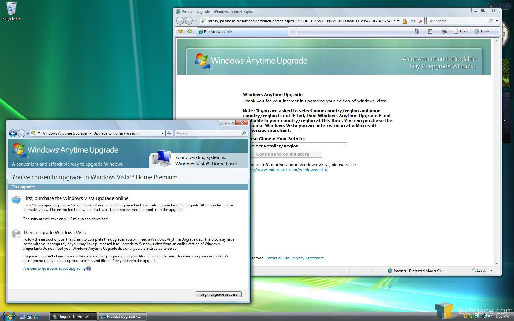 free windows vista upgrade download