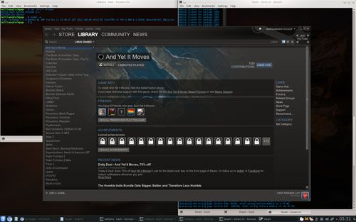 Steam for Linux Under Gentoo
