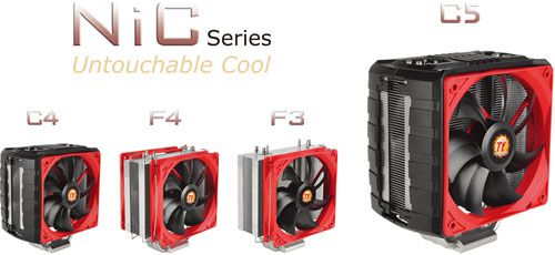 Thermaltake NiC CPU Coolers