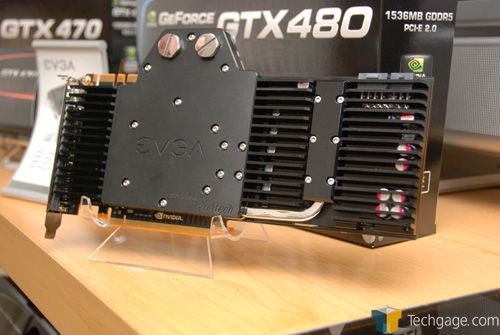 EVGA Water-Cooled GeForce GTX 480