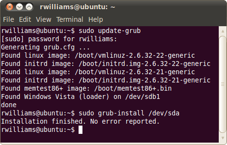 Repairing a Broken GRUB 2 Boot-Loader on Ubuntu – Techgage