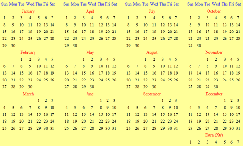 Every Year Calendar : Would it be worth moving to a calendar where every year