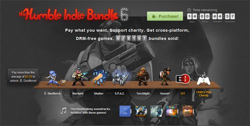 Humble Bundle 6 Launched, Features Torchlight, Rochard and S.P.A.Z.