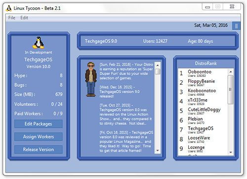 Want to Create Your Own Linux Distro? There's a Game for
