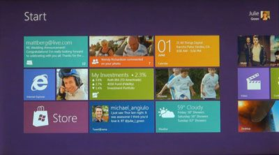 Windows 8 former Metro Interface