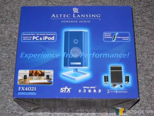 ALTEC LANSING FX5051 USB TREIBER HERUNTERLADEN