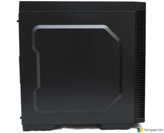 Antec P70 Chassis - Side View
