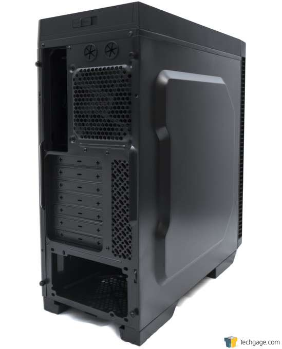 Antec P70 Chassis - Rear 3/4 View