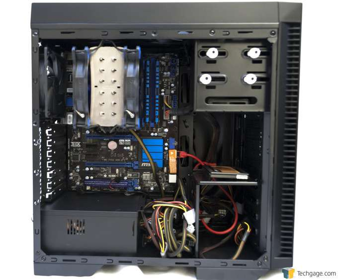 Antec P70 Chassis - Installed System