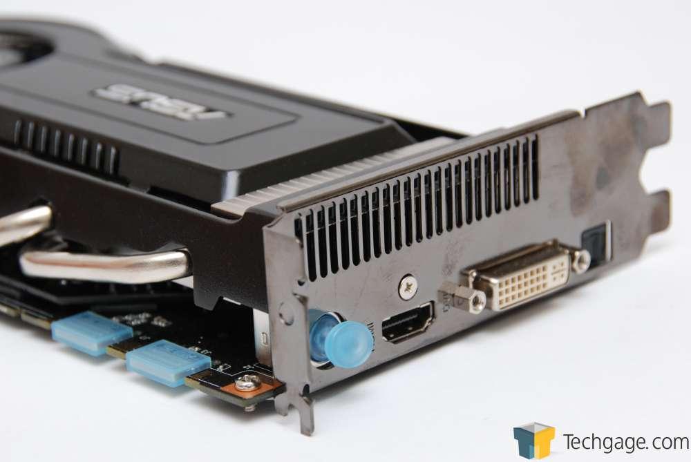 Techgage Image - ASUS GeForce 9800 GT 512MB Matrix