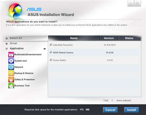 ASUS X202E - ASUS Installation Wizard
