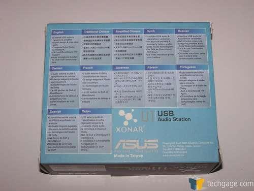 ASUS Xonar U1 Audio Station PMP Lite 64 Bit