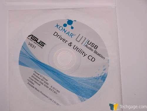 ASUS Xonar U1 Audio Station PMP Lite 64 BIT Driver