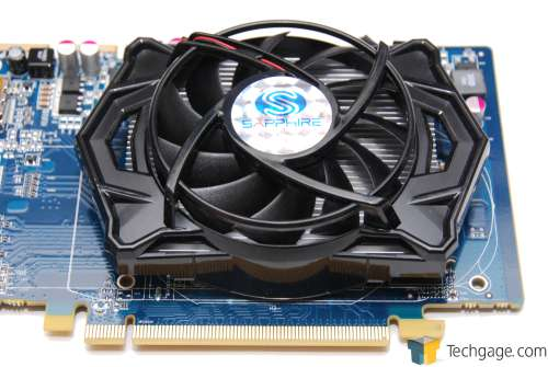 Sapphire Radeon HD 5670 1GB - Up-Close Fan