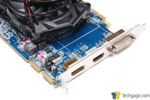 ATI Radeon HD 5670 Display ConnectorsB