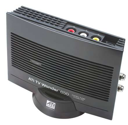 ATI TV WONDER 650 TV TUNER DRIVERS FOR WINDOWS DOWNLOAD