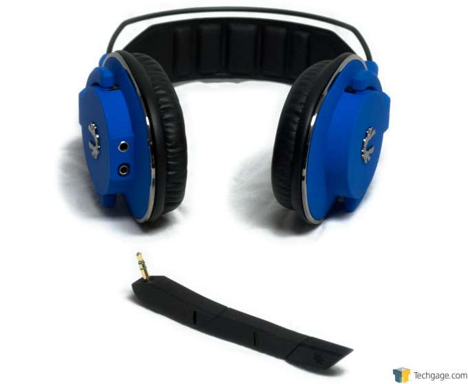 BitFenix Flo Gaming Headset - Detachable Microphone