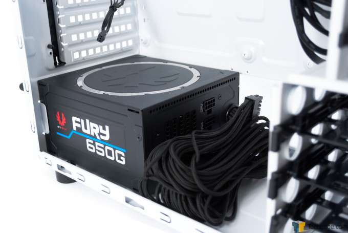 BitFenix Neos Chassis - PSU Installed