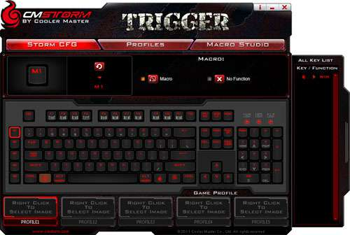 Cooler Master CM Storm Trigger Mechanical Keyboard