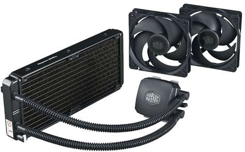 Cooler Master Nepton 240M CPU Cooler - Pump + Rad Pageant Shot