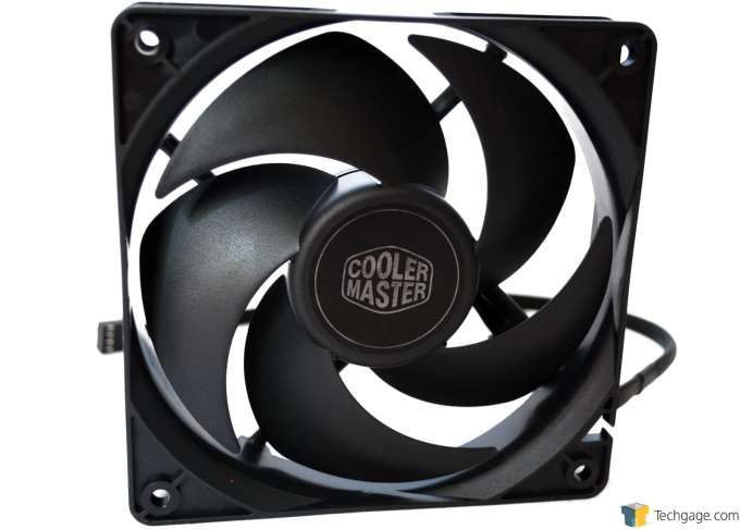 Cooler Master Nepton 240M CPU Cooler - Fan Close-up