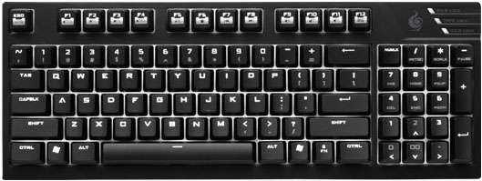 Cooler Master Quickfire TK Mechanical Gaming Keyboard