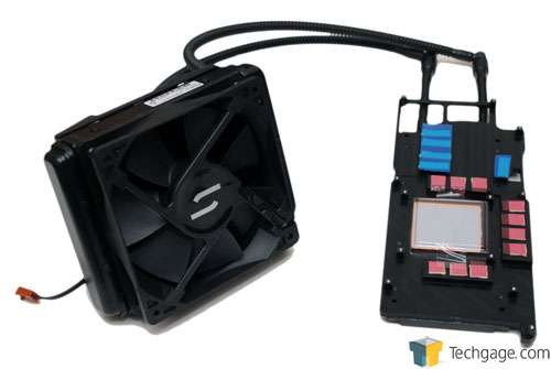 CoolIT Omni A.L.C. Self-Contained Liquid GPU Cooler