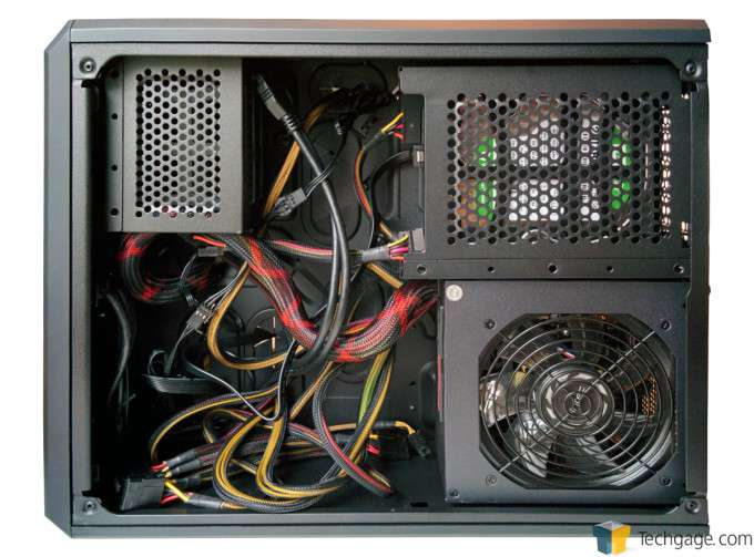 Corsair Carbide Air 240 Chassis - PSU and Wires
