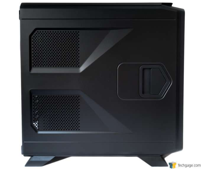 Corsair Graphite 730T Chassis - Left profile