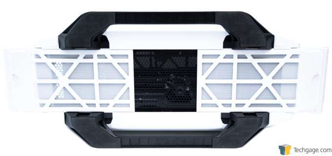 Corsair Graphite 780T Full-Tower Chassis - Underside