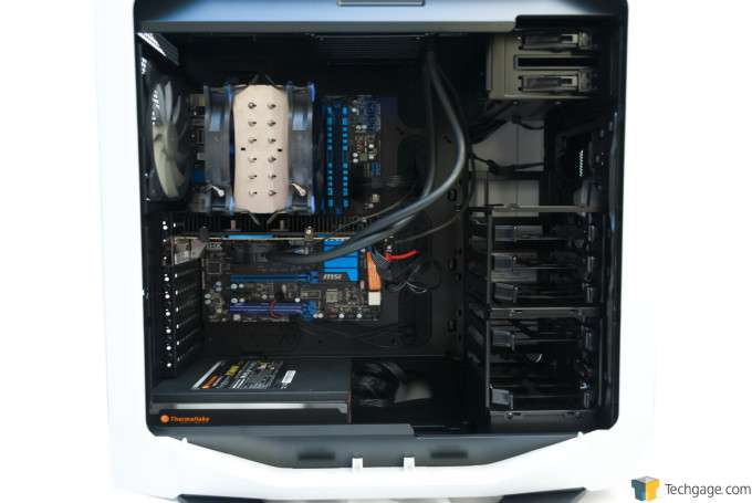 Corsair Graphite 780T Full-Tower Chassis - Test System Installed