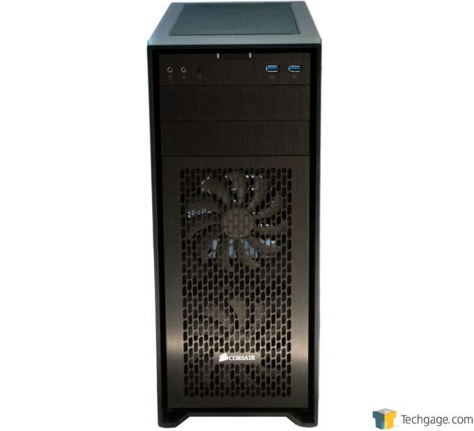 Corsair Obsidian 450D Chassis - Press Shot