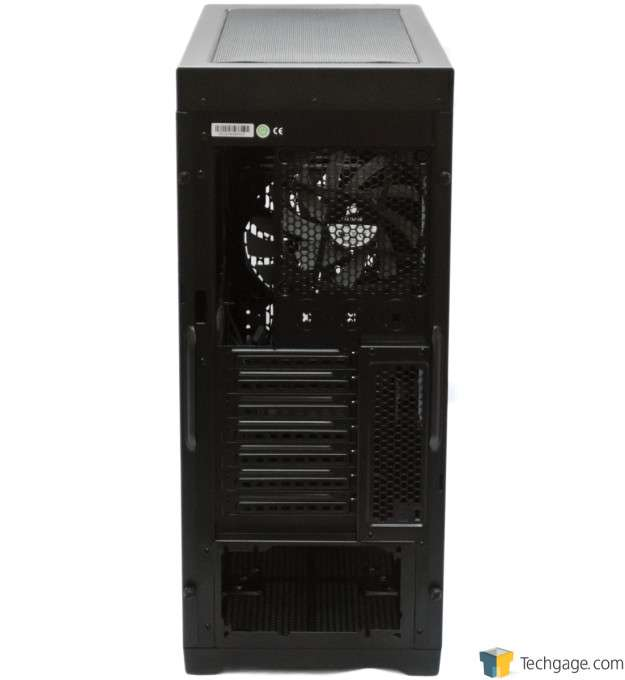 Corsair Obsidian 450D Chassis - Rear View