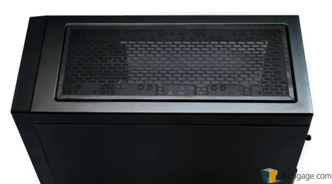 Corsair Obsidian 450D Chassis - Top View