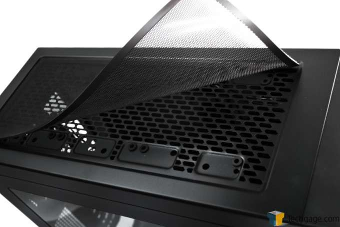 Corsair Obsidian 450D Chassis - Top Dust Filter