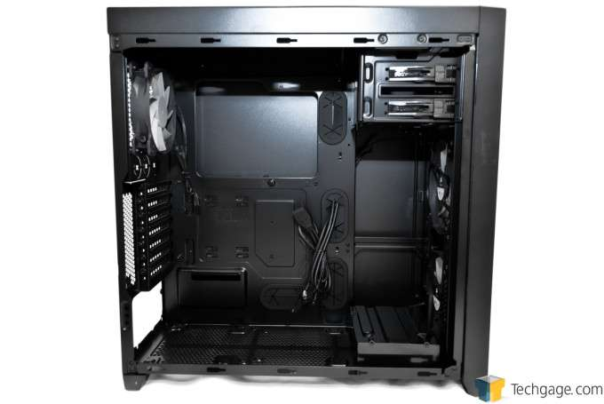 Corsair Obsidian 450D Chassis - Drive Cage Removed