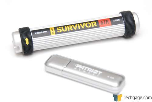 Corsair Survivor GTR 32GB Flash Drive